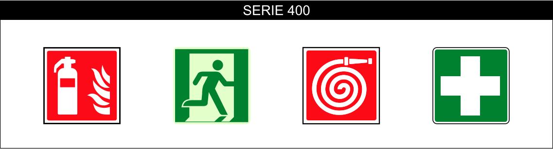 CARTELLI ANTINCENDIO SALVATAGGIO SERIE 400