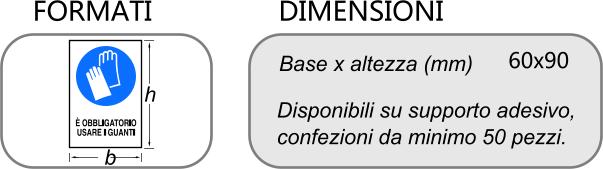 DIMENSIONI ETICHETTE OBBLIGO
